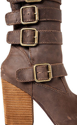 Jeffrey Campbell The Crestview Boot in Distressed Brown