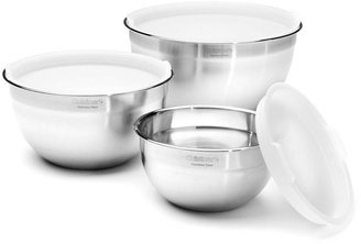 Cuisinart Mixing Bowls with Lids, Set of 3