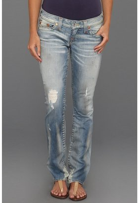 True Religion Johnny Low-Rise Straight Leg in Hastings Pass (Hastings Pass) - Apparel