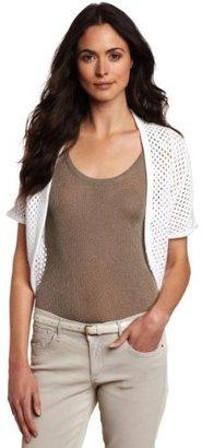 Chaus Women's Honeycomb Stitch Shrug