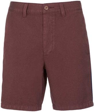 Topman Brown Cotton Shorts