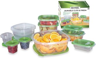 Bed Bath & Beyond Click & Fresh™ 24-Piece Assorted Food Storage Containers