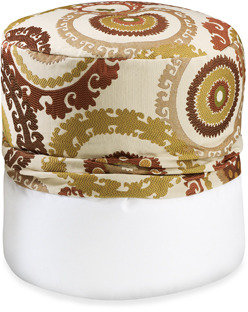 Bed Bath & Beyond Suzani Rust Footstool Cover