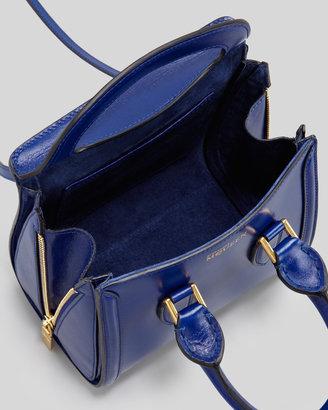 Alexander McQueen Mini Heroine Satchel Bag, Royal