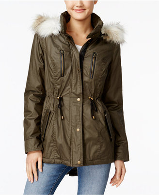 American Rag Coated Parka Coat $129.50 thestylecure.com