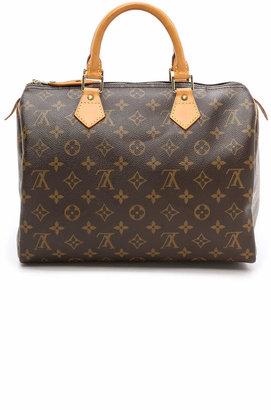 What Goes Around Comes Around Louis Vuitton Monogram Speedy 30 Bag $1,095 thestylecure.com