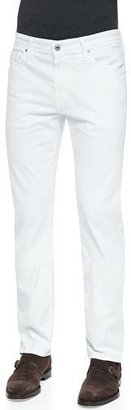 AG Adriano Goldschmied Graduate Sud Jeans, White $178 thestylecure.com