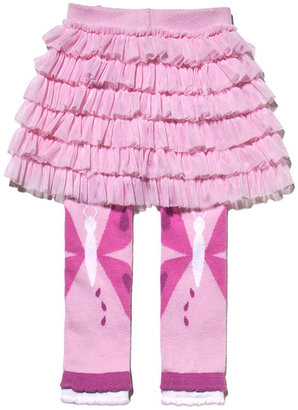Footless Tights with Tutu - Butterfly