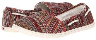 Roxy Pier Cruz (Dark Red) - Footwear