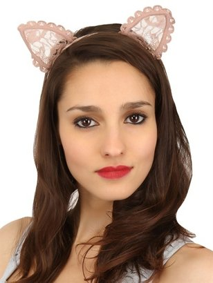 Heidi Lace Cat Ear Headband