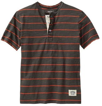 Gap Stripe henley tee
