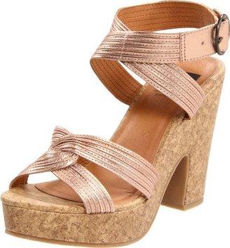 BC Footwear Women's Slouch Platform Sandal