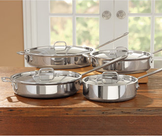 All-Clad Tri-Ply Stainless Steel Saute Pan