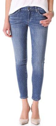 Siwy Hannah Studded Slim Crop Jeans