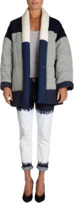 Etoile Isabel Marant Dempster Quilted Patchwork Jacket