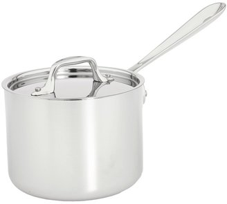 All-Clad Stainless Steel 2 Qt. Sauce Pan With Lid (Stainless Steel) - Home
