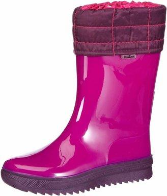 Romika RomiKids half skirt rubber boots Pink Pink (fuchsia-auberg. 481) Size: 29 EU (11 Kinder UK)