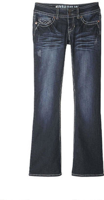 Hydraulic Dark-Wash Bootcut Jean