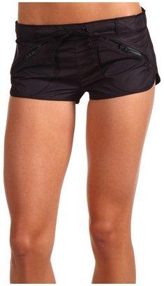 adidas by Stella McCartney Run Woven Short (Black) - Apparel