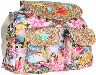 Le Sport Sac Convertible Backpack (Belize Floral) - Bags and Luggage