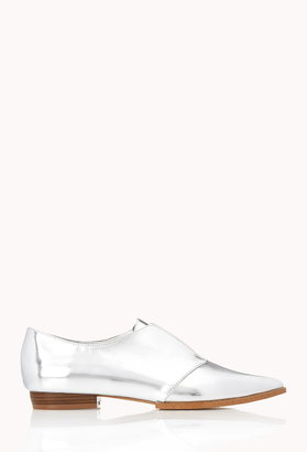 Forever 21 Sleek Pointed Oxfords