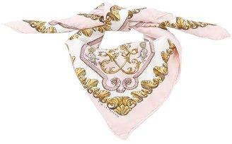 Hermes Vintage printed silk scarf