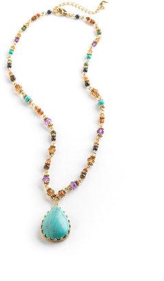 Lauren Ralph Lauren Beaded Pendant Necklace