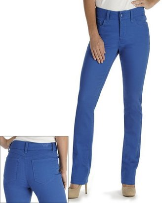 Lee nadia perfect fit slimming color straight-leg jeans