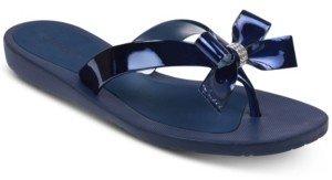 GUESS Tutu Bow Flip Flops Women's Shoes