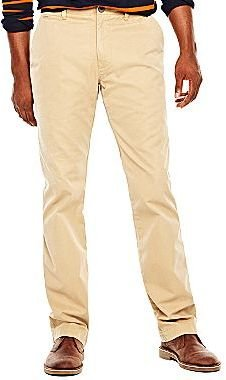 JCPenney jcpTM Flat-Front Chinos