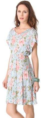 Wildfox Couture Grunge Rose Print Dress