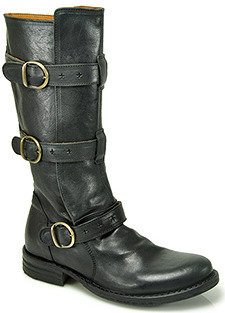 Fiorentini+Baker 7040 Eternity - Black Buckle Boot