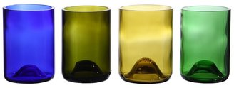 Oenophilia - Recycled Wine Bottle Tumblers (Multi) - Home