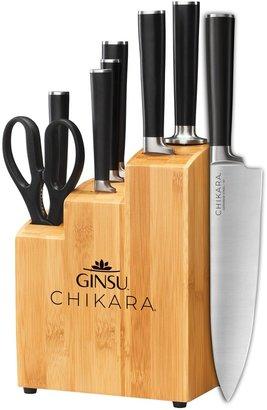 Ginsu 8-pc. Chikara Cutlery Set