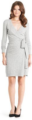 Diane von Furstenberg Linda Wool Wrap Dress