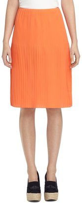 Brooks Brothers Stitched Pleat Skirt