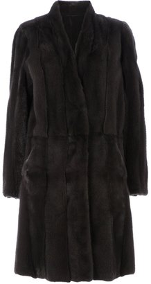 32 Paradis Sprung Frères reversible mink fur coat