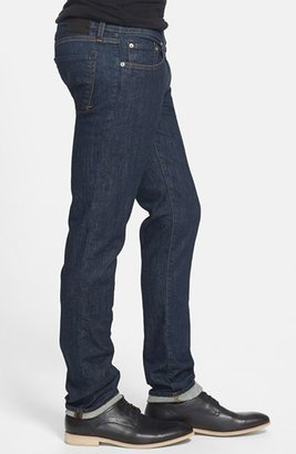 J Brand Skinny Fit Selvedge Jeans (Dark Clean)