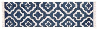 Pottery Barn Lily Recycled Yarn Indoor/Outdoor Rug - Navy Blue