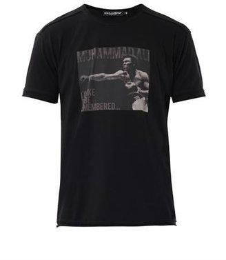 Dolce & Gabbana Muhammad Ali-print T-shirt