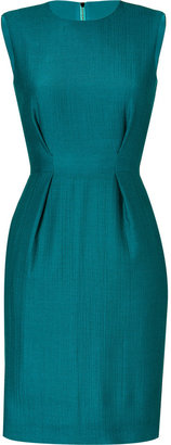 Roksanda Ilincic Petrol Wool-Crepe Dress