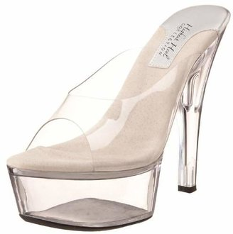 The Highest Heel Women's Crystal Platform Sandal