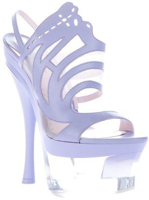 Versace cut-out sandal