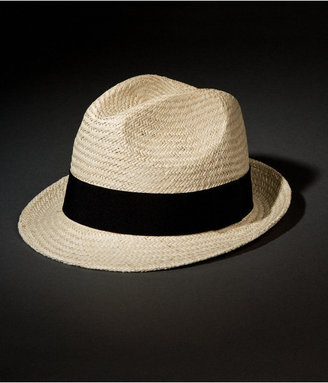 Express Straw Fedora Hat