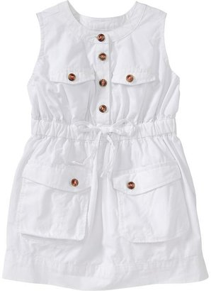 Old Navy Sleeveless Utility Dresses for Baby