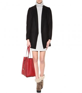 Burberry Wool and cashmere-blend sweater dress