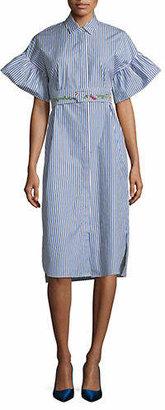 Max Mara Orfeo Cotton Poplin Dress