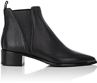 Acne Studios Women's Jensen Leather Chelsea Boots-BLACK $560 thestylecure.com