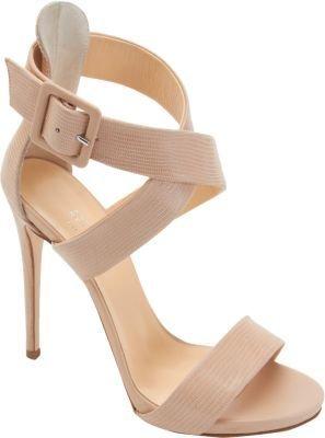Barneys New York Criss-Cross Ankle Strap Sandal