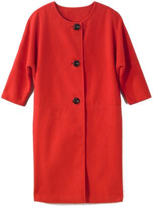 Spiegel Oversized Retro-Style Coat